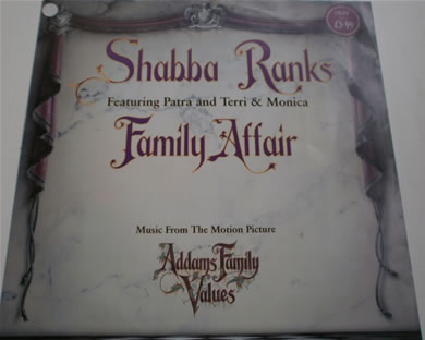 Shabba Ranks - Family Affair from Adams Family Values 12 Inch Vinyl