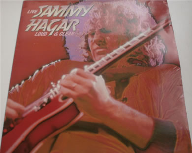 Sammy Hagar - Loud And Clear LIVE 12 Inch Vinyl