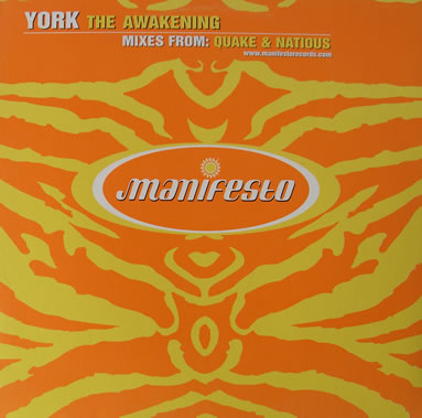 York - The Awakening 12 Inch Vinyl