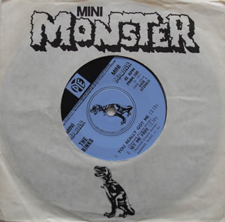 The Kinks - You Really Got Me (Mini Monster EP) 7 Inch Vinyl