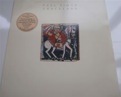Paul Simon - Graceland 1986 12 inch vinyl