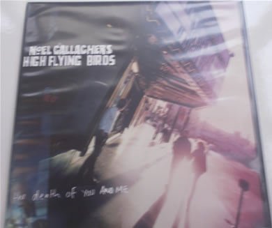 Noel Gallaghers High Flying Birds - The Death Of You And Me 7 Inch Vinyl