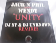 Jack 'n' Phil feat Wendy - Unity DJ SY & Unknown remixes 12 Inch Vinyl