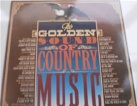 The Golden Sound Of Country Music 12 Inch Vinyl