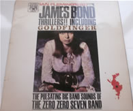 007 James Bond Thrillers - The 007 Band MAL 590 1965 12 Inch Vinyl