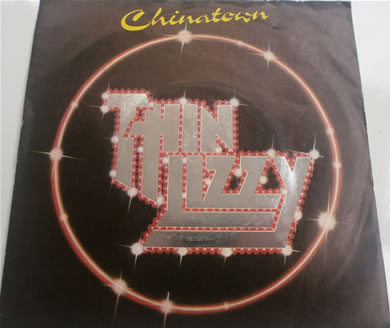 Thin Lizzy - China Town 7 Inch Vinyl