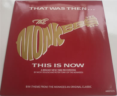 The Monkees - That Was Then This Is Now 7 Inch Vinyl