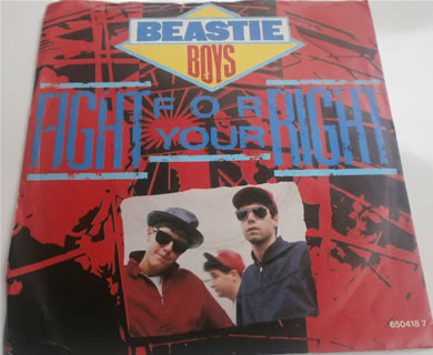 Beastie Boys - Fight For Your Right 7 inch vinyl