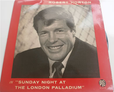 Robert Horton - Sunday Night At The London Palladium E.P 7 Inch Vinyl