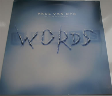 Paul Van Dyke (feat Tony Halliday) - Words / Moonlightning 12 inch vinyl