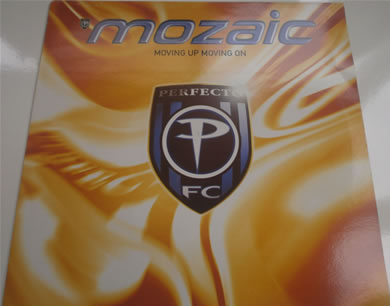 Mozaic - Movin Up Movin On 12 inch vinyl