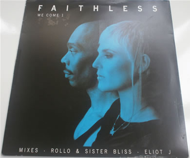 Faithless - We Come 1 12 inch vinyl