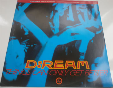 D:Ream - Things Can Only Get Better 12 Inch Vinyl