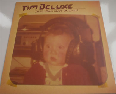 Tim Deluxe - Les Talk More Action 12 Inch Vinyl
