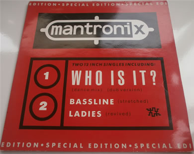Mantronix - Who Is It / Bassline / Ladies special edition gatefold 12 Inch Vinyl