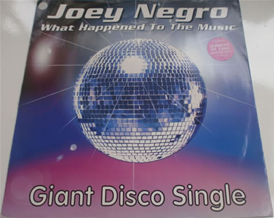 Joey Negro - What Happened To The Music 12 Inch Vinyl