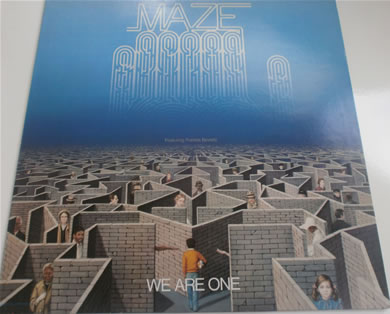 Maze - We Are One L.P 12 inch vinyl