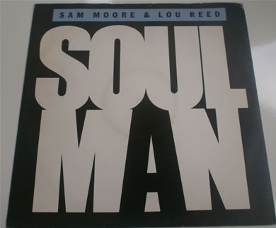 Sam Moore & Lou Reed - Soul Man AMY364 12 inch vinyl