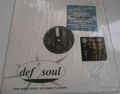Montell Jorden with LL Cool J - Get It On Tonight 12 inch vinyl