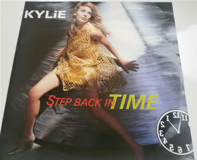 Kylie Minogue - Step Back In Time 1990 12 inch vinyl
