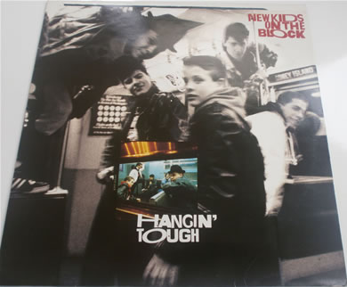 New Kids On The Block - Hangin Tough L.P 1988 12 Inch Vinyl