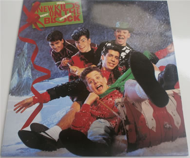 New Kids On The Block - Merry Merry Xmas L.P 1989 12 Inch Vinyl