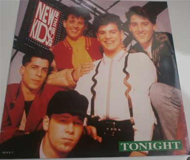 New Kids On The Block - Tonight 4 track BLOCK T7 12 Inch Vinyl