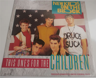 New Kids On The Block - This Ones For The Children BLOCK T9 12 Inch Vinyl