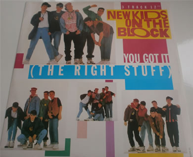 New Kids On The Block - You Got It (the right stuff) 3 track BLOCK T2 12 Inch Vinyl