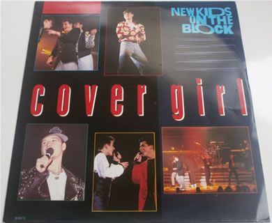 New Kids On The Block - Cover Girl 3 track BLOCK T5 12 Inch Vinyl