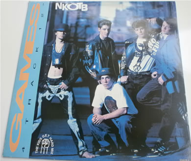 New Kids On The Block - Games - 4 track 12 Inch Vinyl