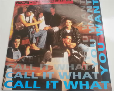 New Kids On The Block - Call It What You Want - 3 track 12 Inch Vinyl