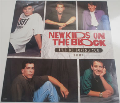 New Kids On The Block - I'll Be Loving You Forever - 4 track 12 Inch Vinyl
