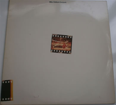 Mike Oldfield - Exposed 12 inch vinyl