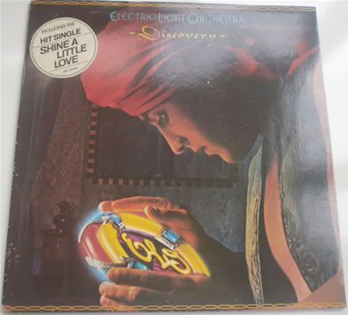 Electric Light Orchestra - Discovery 12 inch vinyl