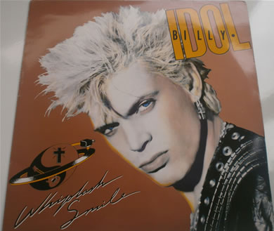Billy Idol - Whiplash Smile 12 inch vinyl