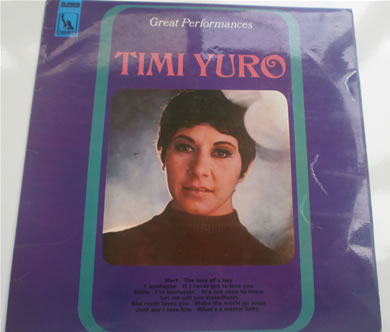 Timi Yuro - Great Performances 12 inch vinyl