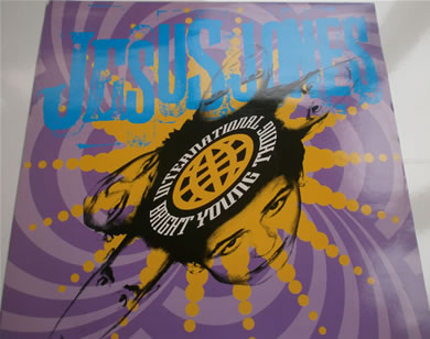 Jesus Jones - International Bright Young Thing 12 Inch Vinyl