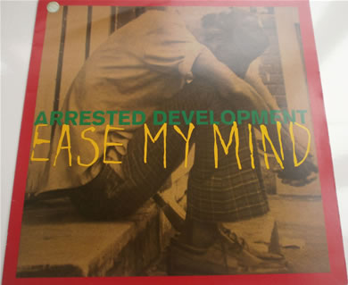 Arrested Development - Ease My Mind 12 inch vinyl