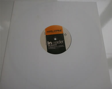 Kool World Productions - In-vader the remixes 1995 12 Inch Vinyl