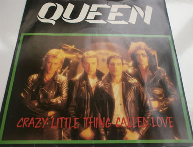Queen - Crazy Little Thing Called Love / We Will Rock You EMI5001 7 inch vinyl