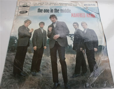Manfred Mann - The One In The Middle E.P MONO 7 Inch Vinyl