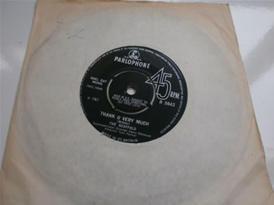 The Scaffold - Thank You Very Much / Id Be The First 1967 R5643 7 Inch Vinyl