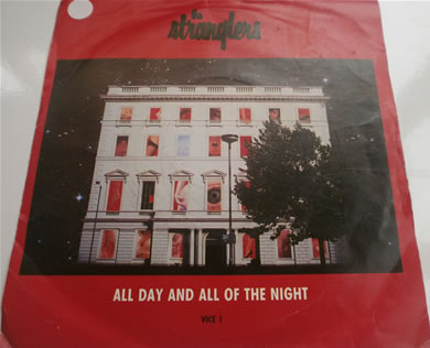 The Stranglers - All Day And All Of The Night / Viva Vlad 1987 7 inch vinyl
