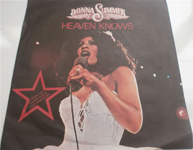 Donna Summer - Heaven Knows / Only One Man 7 inch vinyl