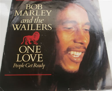 Bob Marley - One Love / So Much Trouble In The World 7 inch vinyl