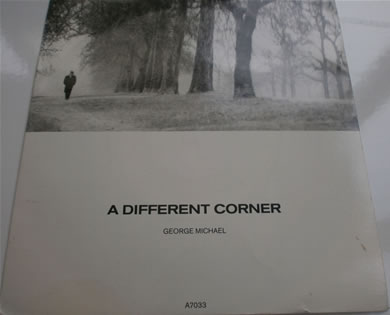 George Micheal - A Different Corner / Instrumental 7 inch vinyl