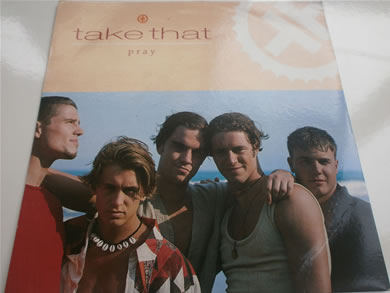 Take That - Pray 7 inch vinyl