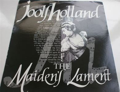 Jools Holland - The Maidens Lament / Honey Dripper 7 inch vinyl