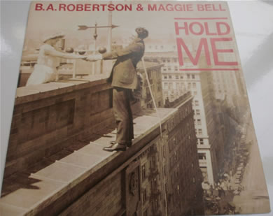 B.A Robertson & Maggie Bell - Hold Me / Spring Greens BAM1 7 inch vinyl